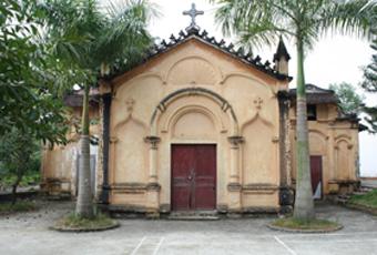 La chapelle de That Khê aujourd'hui