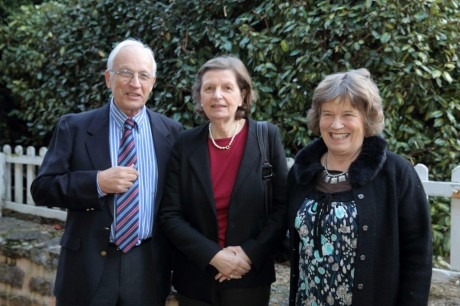 Thierry des Garets,Geneviève Descamps et Odile Bach