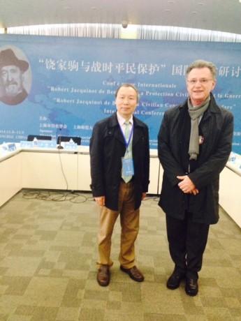 Professeur SU Zhiliqang,M.Nivelle SF Comité Shanghai