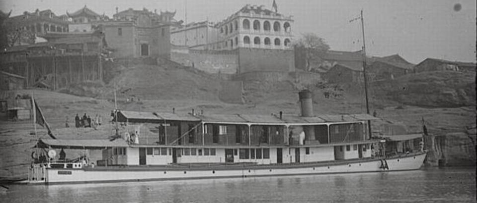 Les canonnières françaises du Yang-Tsé